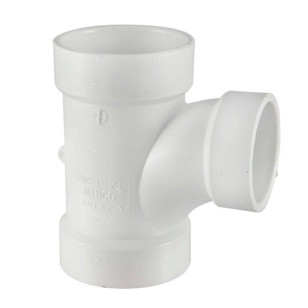 "Genova 2"" x 2"" x 1-1/2"" PVC Reducer Tee"