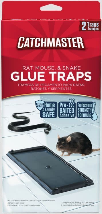 CATCHMASTER CATCHMASTER GLUE TRAP-RAT-2 PACK