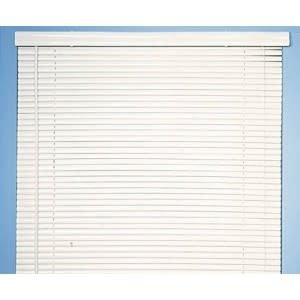 "ACHIM MINI BLIND 1"" VINYL WHITE 36"" X 64"""