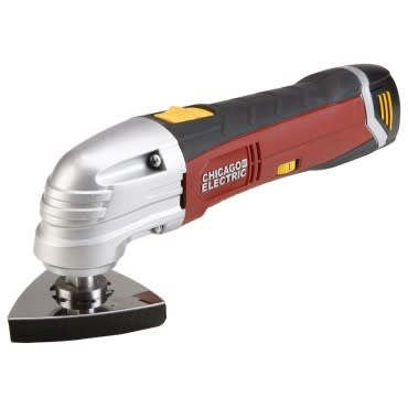 CHICAGO ELECTRIC POWER TOOL OSCILLATING MULTIFUNCTION POWER TOOL
