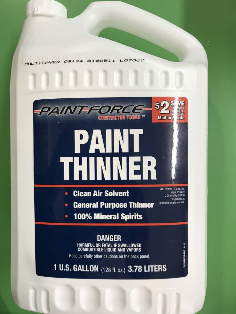 PAINT FORCE PAINT THINNER 1 GAL