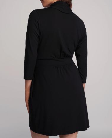 Fleur't Iconic Robe 620 Black