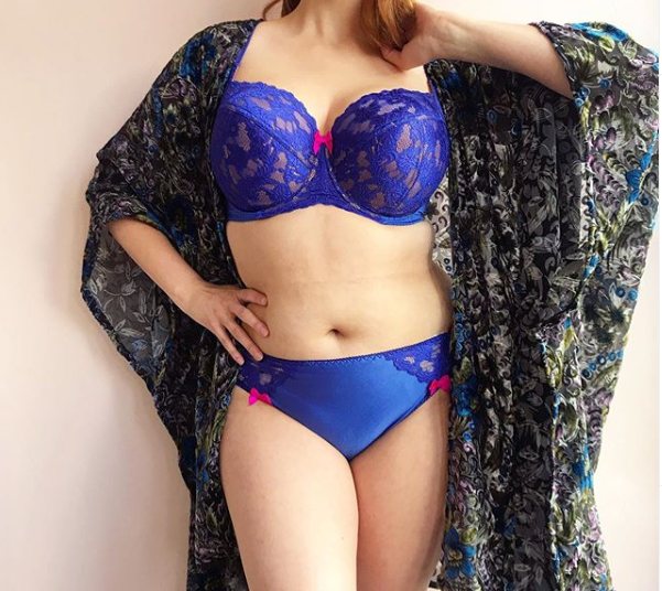Ewa Michalak Ice Blue Balconette