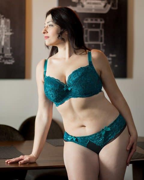 Ewa Michalak Malachit Balconette Emerald