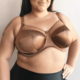 Goddess Keira Fullcup GD6090 Cinnamon