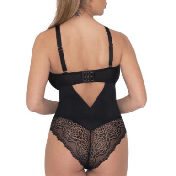 Curvy Kate Indulge Me Bodysuit ST002704 Black