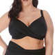 Elomi Magnetic Wrap Plunge Bikini ES7193 Black