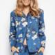 Cyberjammies Heather PJs C-4367/8 Blue Floral