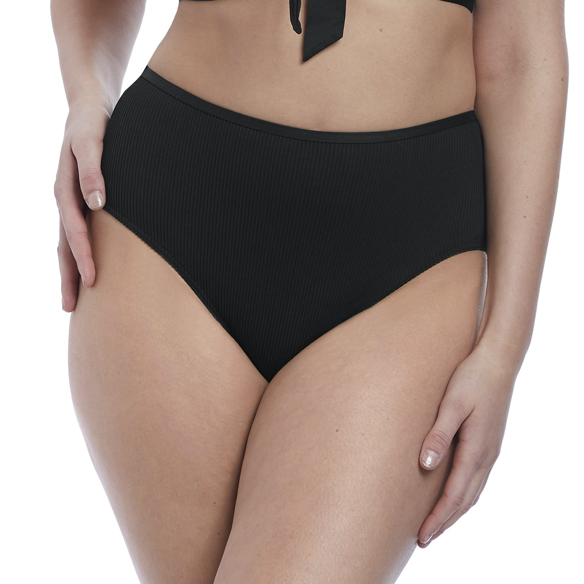 Freya Nouveau High Waist Bikini Brief AS6707 Black