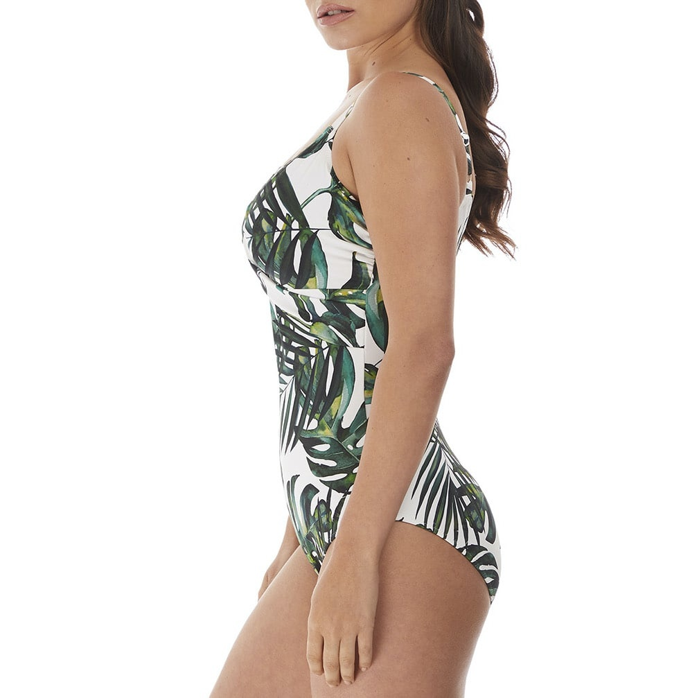 Fantasie Palm Valley Twist Front Suit FS6768 Fern