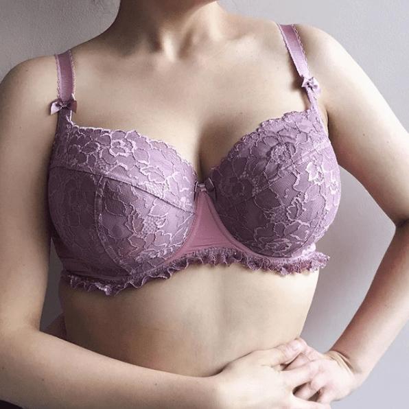 Ewa Michalak Powder Balconette Lilac