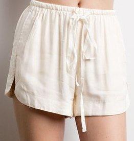 Happy Daze Shorts- Ivory