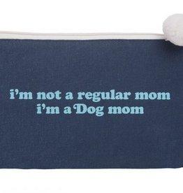 Canvas Cosmetic Bag- Dog Mom