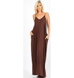 A Lively Love Maxi Dress - Americano