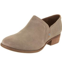 TOMS Women's Shaye Bootie- Desert Taupe Suede