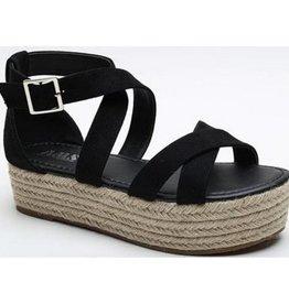 Sofie Platform Sandal - Black