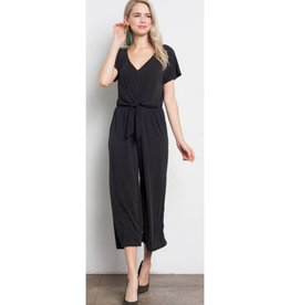 Love Knot Jumpsuit- Black