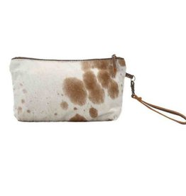 MYRA BAG Light Brown Shaded Hairon Small Bag