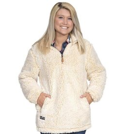 SIMPLY SOUTHERN SHERPA-PULL-CREAM