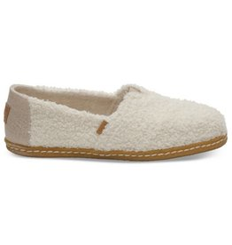 TOMS Plush Shearling Women's Classics - Natural