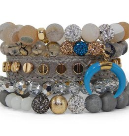 ERIMISH Stackable Bracelet Set - Athens