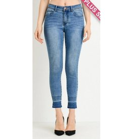 Seems Like Fun Jeans- Medium Wash