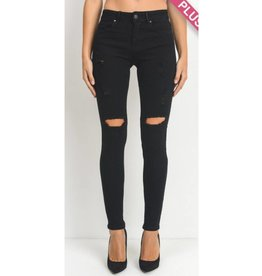 Always Off To Somewhere Jeans- Black