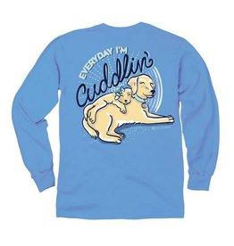 IT-Cuddlin-YOUTH LS -Carolina Blue