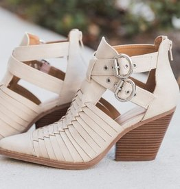 Motivated Moves Booties- Beige