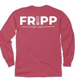FF-Fripp Logo Shotgun Shells-Longsleeve-Crimson