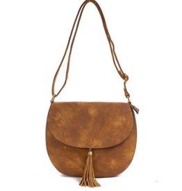 The Jodie Saddle Bag- Brown