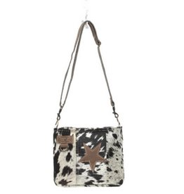 MYRA BAG Star On Hair-On Shoulder Bag
