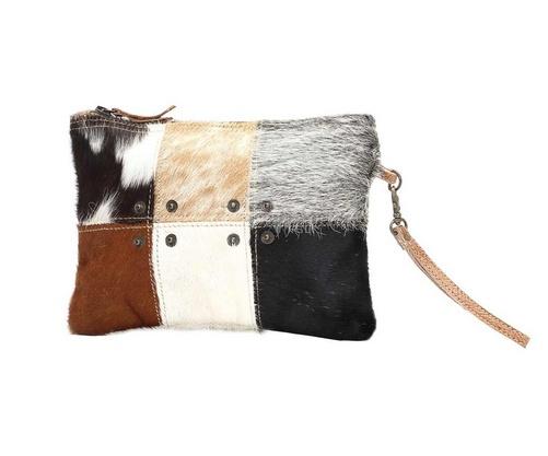695a0e94877 MYRA BAG Button Hair-On Small Bag