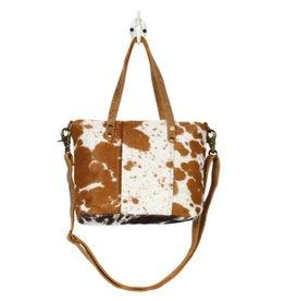 MYRA BAG Aptitude Leather & Hairon Bag
