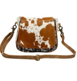 MYRA BAG Flap Over Hairon Small & Cross Body Bag