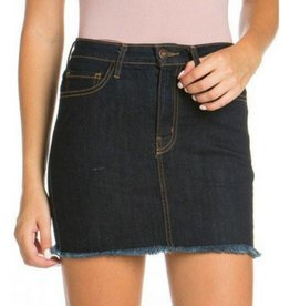 Ready For Fun Denim Skirt - Indigo