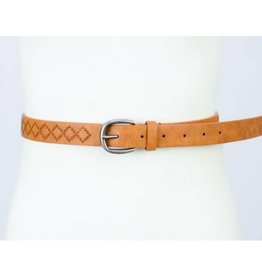 Get In Check Belt- Camel