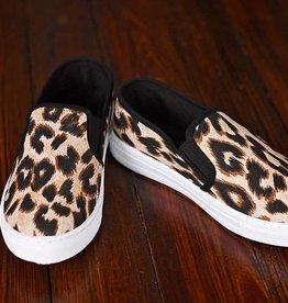 Animal Instinct Slip-On Sneakers - Leopard