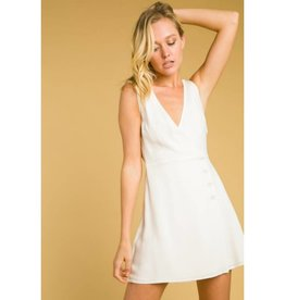 Charleston Chic Dress- White
