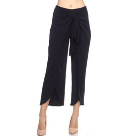 Step On Out Wrap Pants- Navy