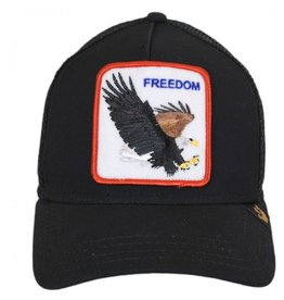 Freedom Baseball Cap- Black
