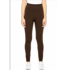 FL Plus Fleece Legging Dark Brown