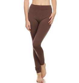 FL Plus Fleece Legging Brown