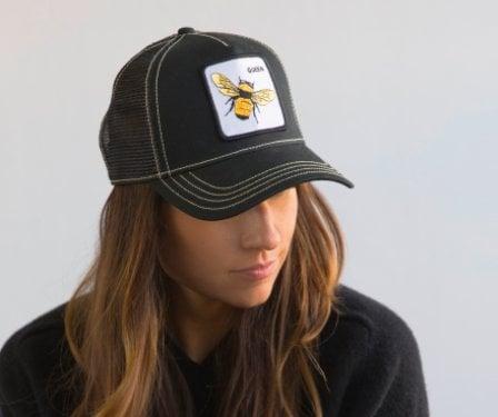 163c434ba26c4 Queen Bee Baseball Cap- Black GOORIN BROS. Queen Bee Baseball Cap- Black