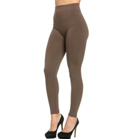 FL Fleece Leggings- Cocoa One