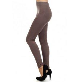 FL Fleece Leggings- Dark Taupe