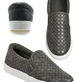 Take Five Woven Sneaker- Grey