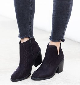 Call It Fall Booties- Black