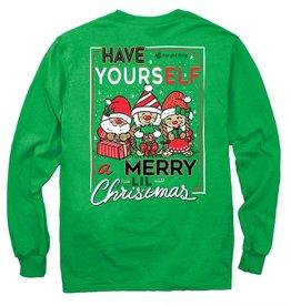 IT-Elves Christmas-YOUTH Longsleeve-Irish Green