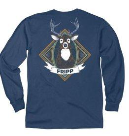 FF-Deer Head-Longsleeve-Navy